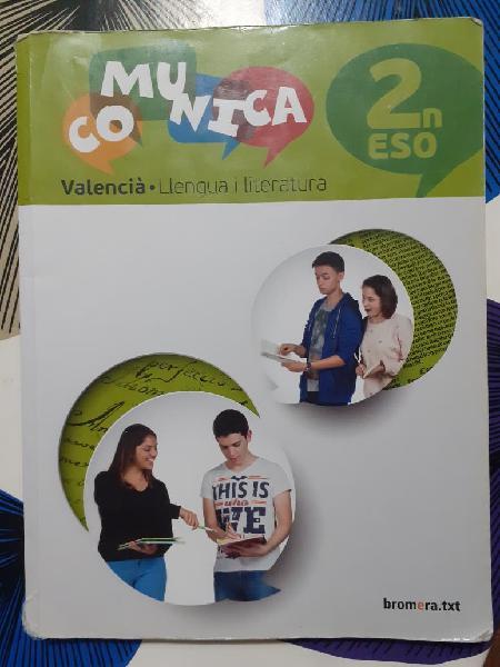Valencià llengua i literatura 2 eso