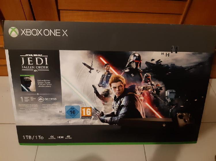 Xbox one x 1tb fallen order precintada