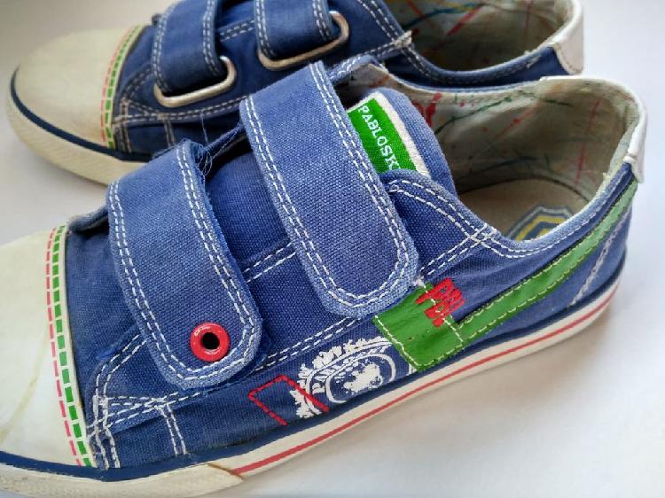 Zapatillas niño pablosky n35