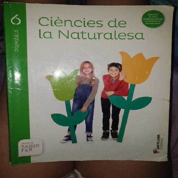 Ciencias la naturaleza 6º de primaria santillana