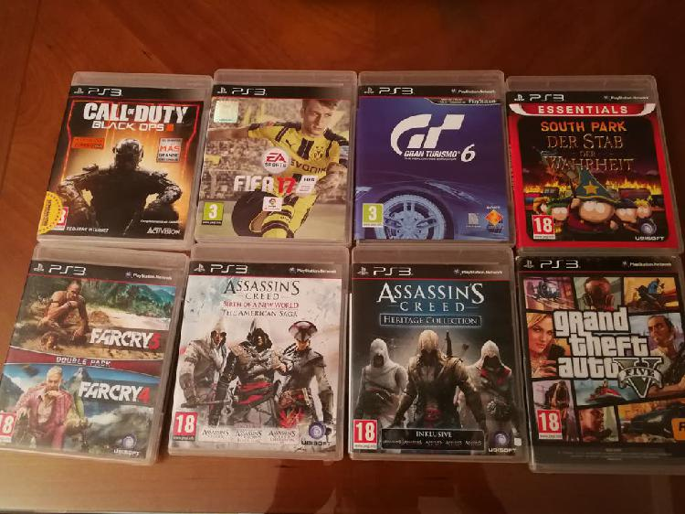 Juegos play 3, play station, sony, ps3.