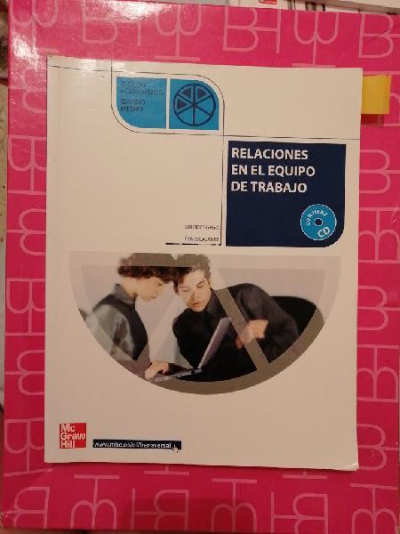 Libro relaciones en el equipo de trabajo