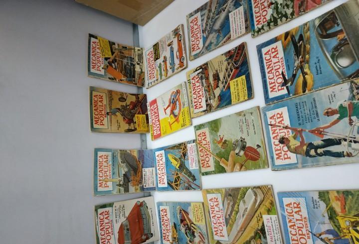 Lote de 16 revistas mecanica popular automocion revista de