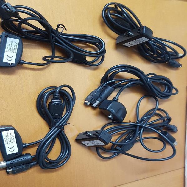 Lote de 5 cables multilinks. permiten 5 combinacio