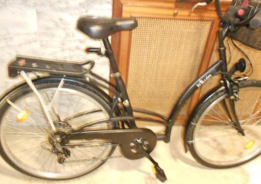 Bicicleta d paseo señora caballero btwin