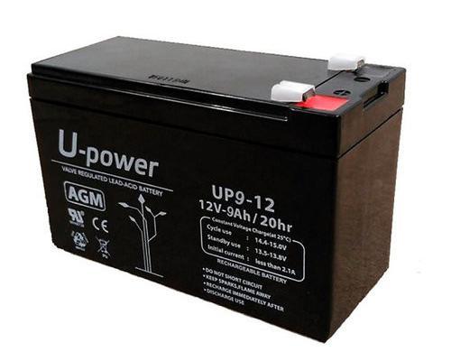 Baterías agm u-power 12v 9ah