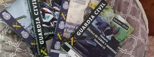 Libros temario guardia civil (edición 2018)