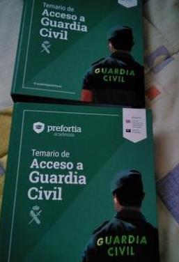 Temario actualizado oposiciones guardia civil