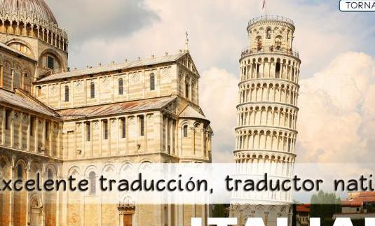 Traductor nativo italiano