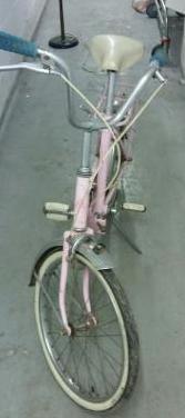 Bici paseo nena antigua marca gac
