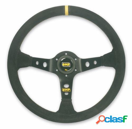 Volantes corsica: dished steering wheel with 3 black anodized aluminiu