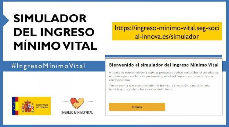 Ayuda presentación ingreso mínimo vital