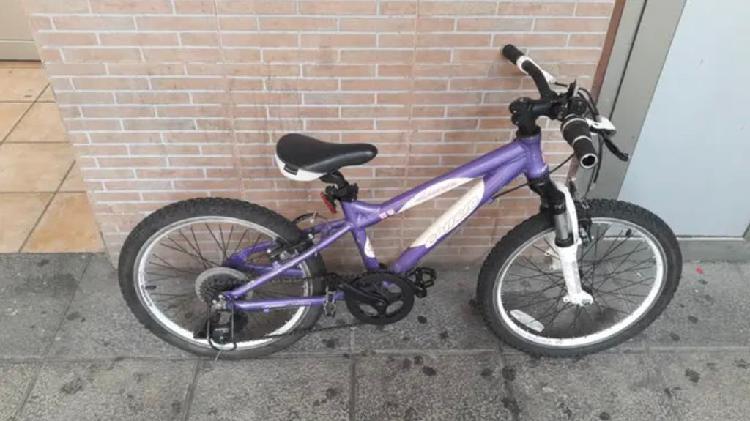"Bicicleta carrera luna niña niño 20"" 2"