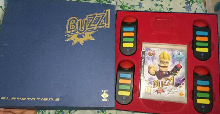 Buzz ps3 edición coleccionista