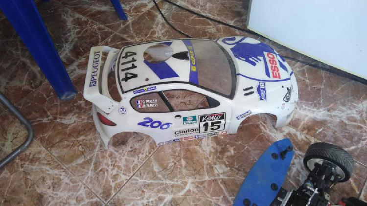 Coche rc gasolina escala 1/8
