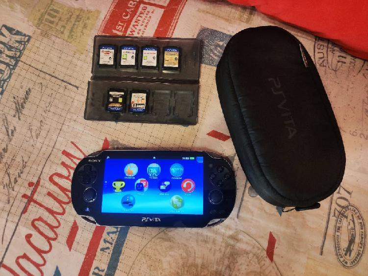 Consola ps vita pch-1004 + accesorios