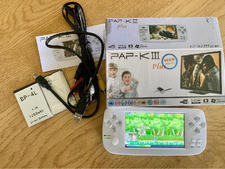 Consola retro 4.3 pulgadas arcade pap-k 3