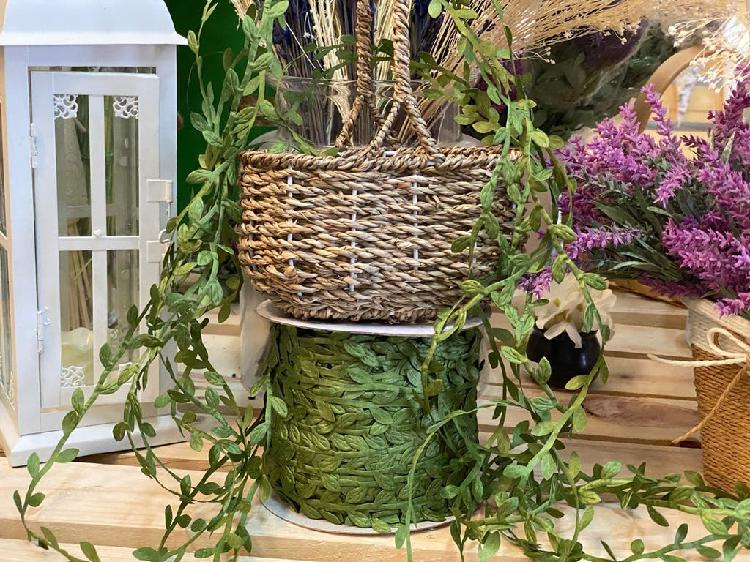 Cordón de hojas decoración casa bodas comuniones