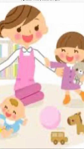Cuidar niños y clases de inglés y francés
