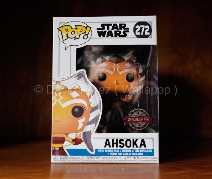 Funko pop ahsoka star wars exclusivo