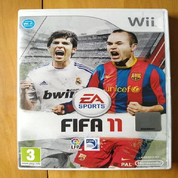 Juegos wii ( fifa 11 )