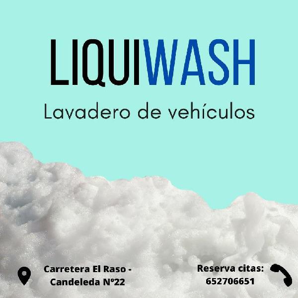 Lavado de vehículos - liquiwash
