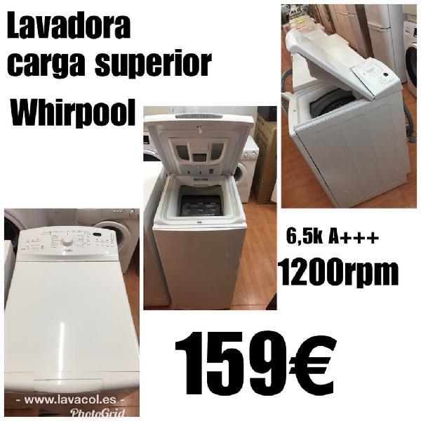 Lavadora carga superior 6k 1año garantía