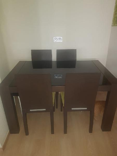 Mesa salón comedor extensible