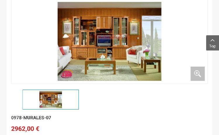 Mueble salón semimural