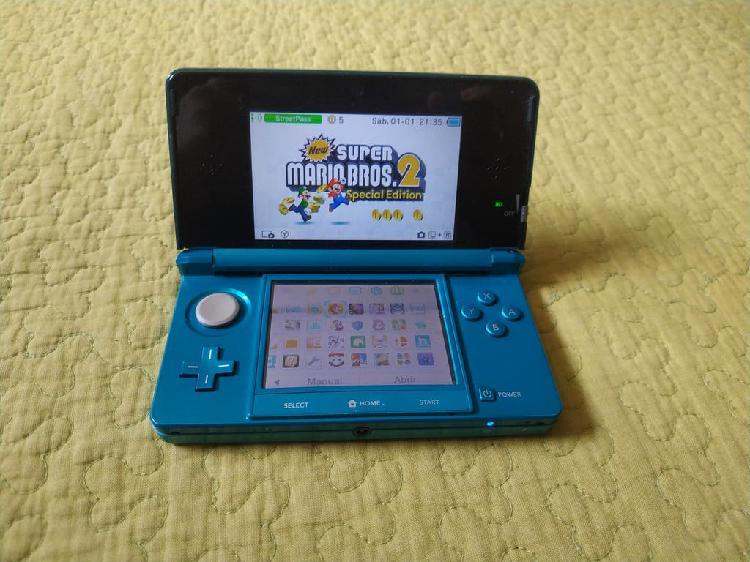 Nintendo 3ds con los mejores juegos