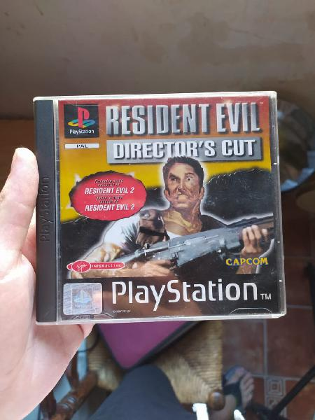 Resident evil director's cut ps1 psx playstation