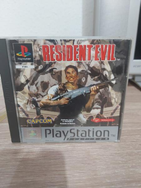 Resident evil y spiderman psx ps1