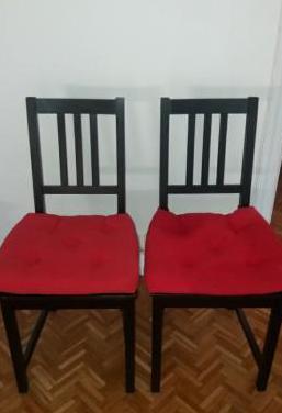 2 sillas stefan de ikea