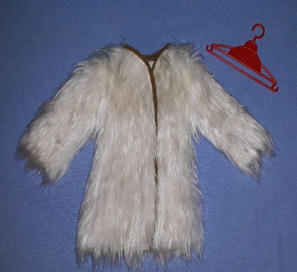 Abrigo del vestido liceo de fanny de vicma original años 70