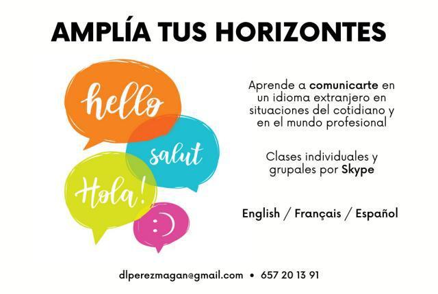 Aprende inglés o francés online!
