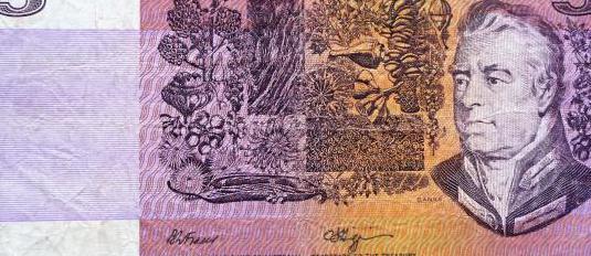 Australia, 5 dolares 1990