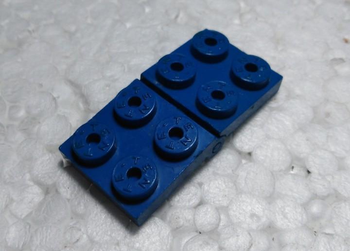 Azul bisagra normal - tente