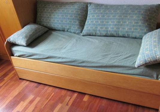Cama nido. dormitorio juvenil.