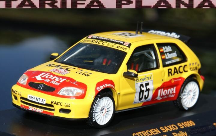 Citroen saxo s1600 transkit rallye de montecarlo 2002