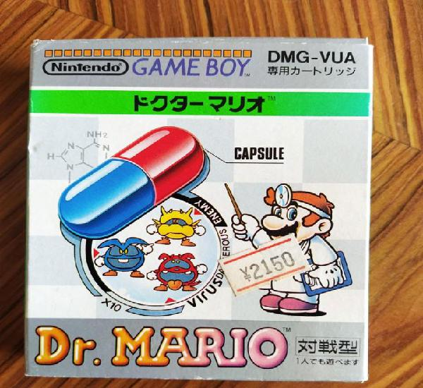 Completo doctor mario gameboy en excelente estado