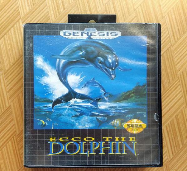 Completo ecco the dolphin sega genesis con caja y manual en
