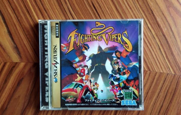 Completo fighting vipers sega saturn con caja y manual en