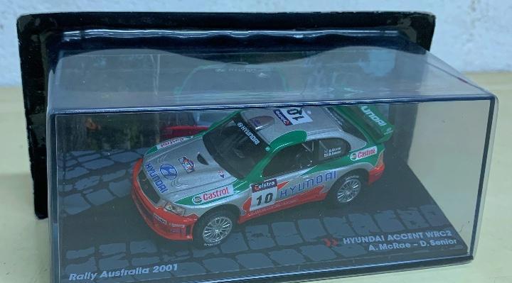 Hyundai accent wrc2 - rally australia 2001 - 1:43