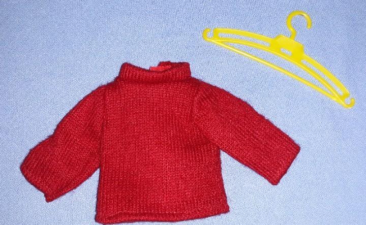 Jersey rojo de lesly hermanita de nancy de famosa original