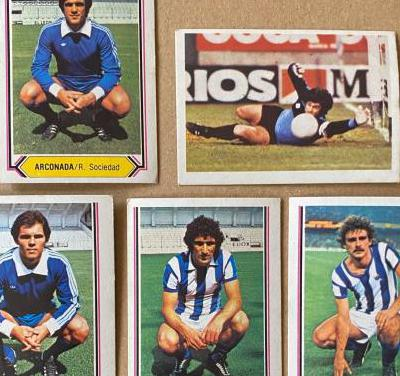 Liga 80-81, real sociedad. futbol. ed. este.