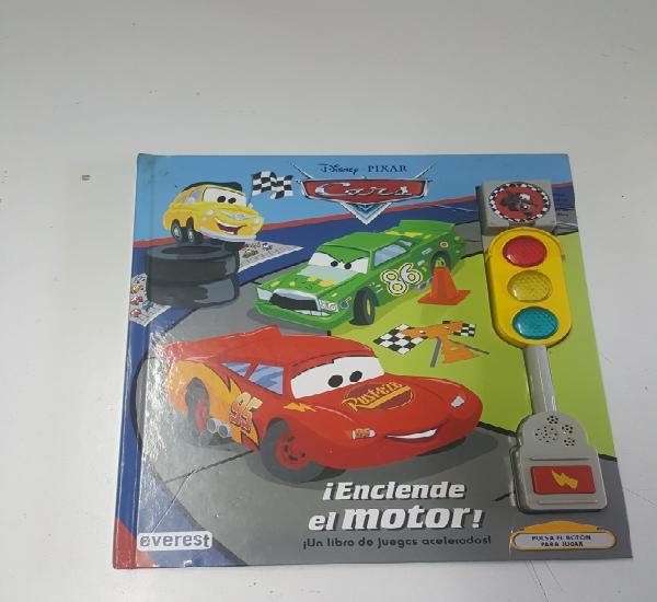 Libro juego cars disney pixar enciende el motor de editorial