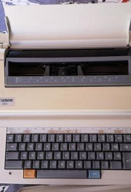 Máquina escribir eléctrica canon
