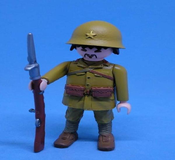 Playmobil custom soldado ejercito japones - precio unidad