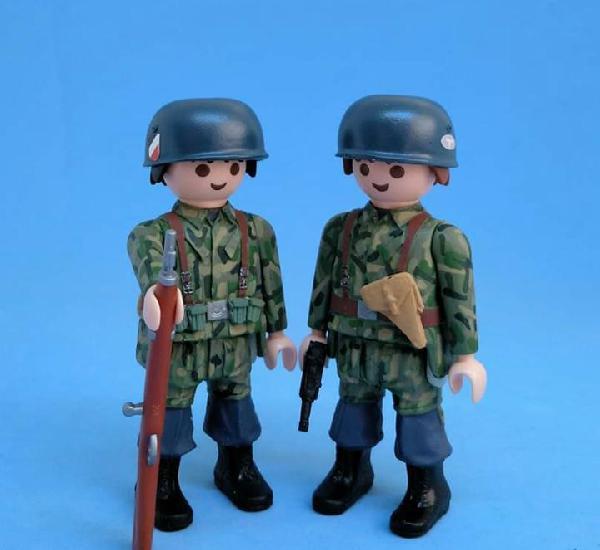 Playmobil custom soldado paracaidista aleman - precio unidad