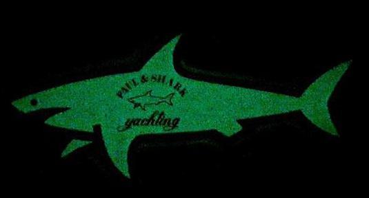 Pegatina fosforescente de paul & shark